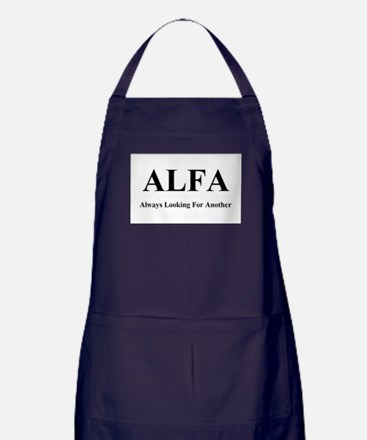 ALFA - Always Looking For Another Apron (dark)