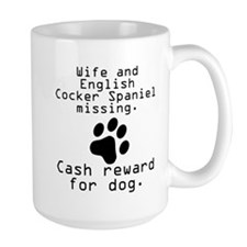 Wife And English Cocker Spaniel Missing Mugs