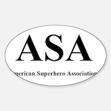 ASA - American Superhero Association Decal