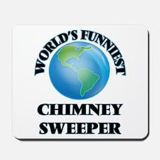 World's Funniest Chimney Sweeper Mousepad