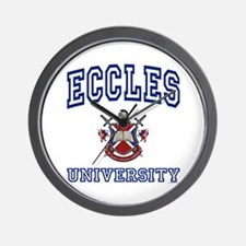 ECCLES University Wall Clock