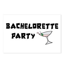 Bachelorette Party Invitations Postcards (8)