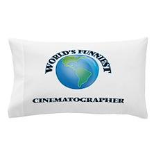 World's Funniest Cinematographer Pillow Case