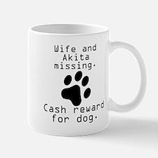 Wife And Akita Missing Mugs