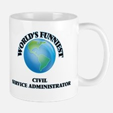 World's Funniest Civil Service Administrator Mugs