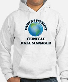 World's Funniest Clinical Data M Hoodie