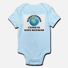 World's Funniest Clinical Data Manager Body Suit