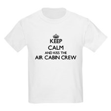 Keep calm and kiss the Air Cabin Crew T-Shirt
