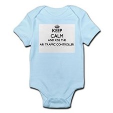 Keep calm and kiss the Air Traffic Contr Body Suit
