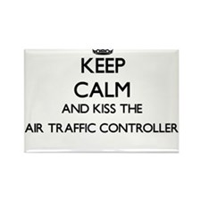 Keep calm and kiss the Air Traffic Control Magnets