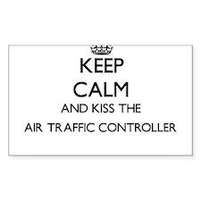 Keep calm and kiss the Air Traffic Control Decal