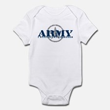 Army - I Support My Granson Infant Bodysuit
