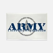 Army - I Support My Granson Rectangle Magnet