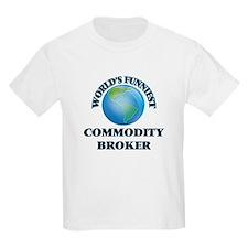 World's Funniest Commodity Broker T-Shirt