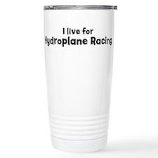 Cute Hydroplane Travel Mug