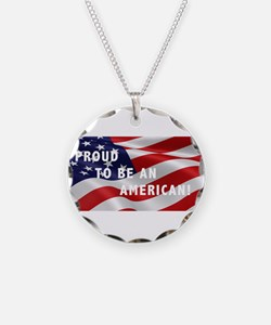 Proud To Be An American Necklace