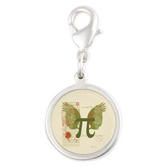 Winged Pi Charms