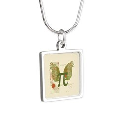 Winged Pi Necklaces