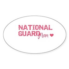 NG Mom Oval Decal