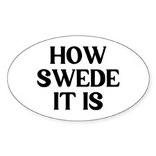 How Swede Decal