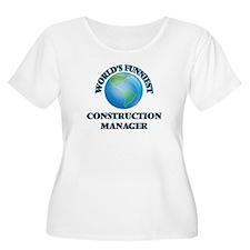 World's Funniest Construction Ma Plus Size T-Shirt