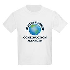 World's Funniest Construction Manager T-Shirt