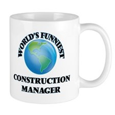 World's Funniest Construction Manager Mugs