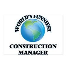 World's Funniest Construc Postcards (Package of 8)