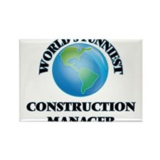World's Funniest Construction Manager Magnets