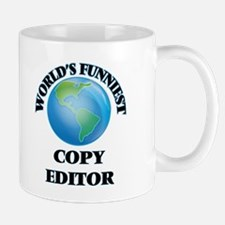 World's Funniest Copy Editor Mugs