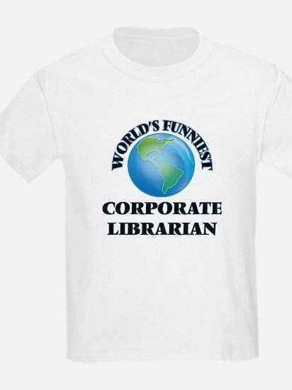 World's Funniest Corporate Librarian T-Shirt