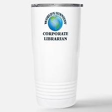 World's Funniest Corpor Stainless Steel Travel Mug