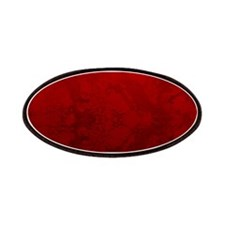 Red Satin Design Patches