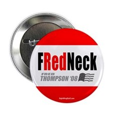 "I'm a FRedneck 2.25"" Button (100 pack)"