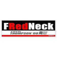 I'm a FRedneck Bumper Bumper Sticker