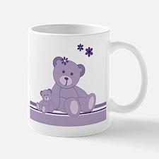 Purple Awareness Bears Mugs