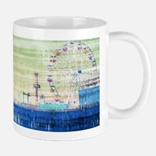 Green Grey Canvas Pier Mugs