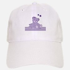 Purple Awareness Bears Baseball Baseball Baseball Cap