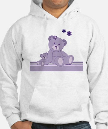 Purple Awareness Bears Hoodie