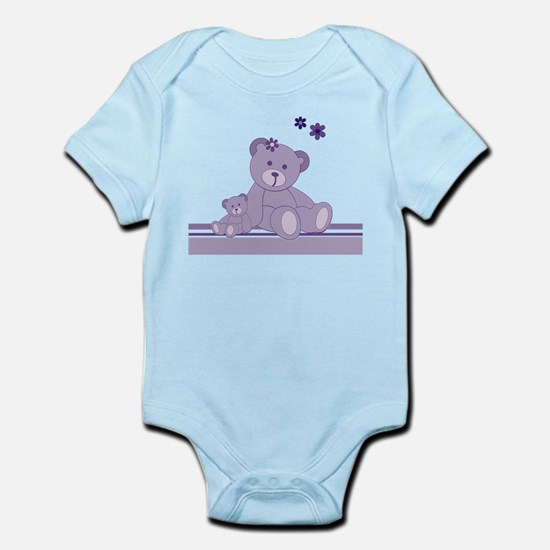 Purple Awareness Bears Body Suit