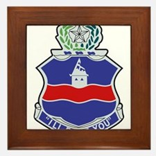 142nd Infantry Regiment Patch.png Framed Tile