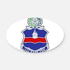 142nd Infantry Regiment Patch.png Oval Car Magnet
