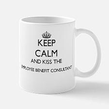 Keep calm and kiss the Employee Benefit Consu Mugs
