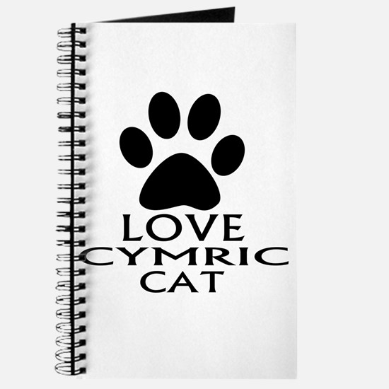 Love Cymric Cat Designs Journal