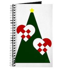 Christmas hearts Journal