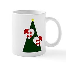 Christmas hearts Mugs