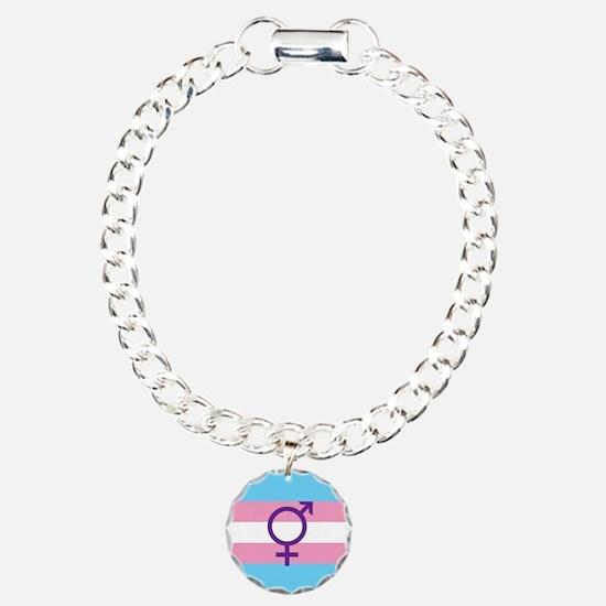 Transgender Flag Bracelet