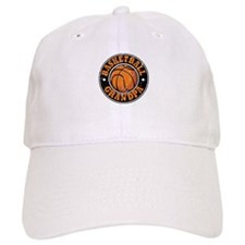 Basketball Grandpa Baseball Cap