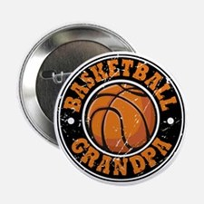 Basketball Grandpa Button