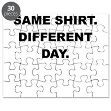 SAME SHIRT DIFFERENT DAY Puzzle